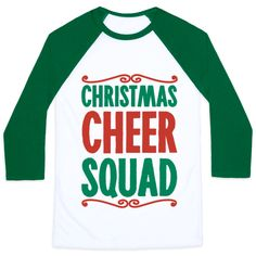 My squad goes Christmas caroling together, Christmas decorating and giving gifts! Celebrate the holiday season with your squad in this fun, holiday shirt. Free Shipping on U.S. order over $50.00