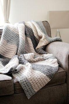 Let's Stay Home Blanket // Crochet PDF Pattern