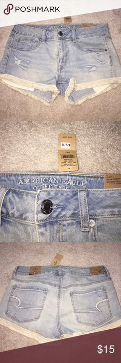 American Eagle shorts NEW size 6 Beautiful shorts!!!! My goodness! Smoke free home and ready to ship! American Eagle Outfitters Shorts