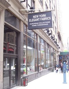 shop the garment district NYC: a comprehensive list of fabric stores in the garment district