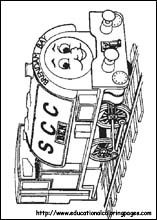 Free Printable Coloring Pages   Thomas the Train Coloring Pages