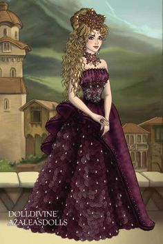 Queen Manasa for BBchan ~ by Inanna ~ created using the LotR Hobbit doll maker | DollDivine.com