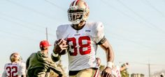 @Marcus Lattimore practiced for the first time with the #49ers! 11/21/13