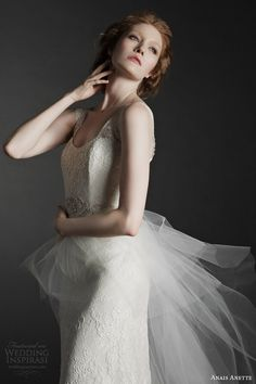 anais anette fall 2014 bridal odette wedding dress close up bodice Wedding Dress Boutiques, Wedding Dresses 2014, Wedding Gowns, Gorgeous Wedding Dress, Elegant Wedding, Dream Wedding, Bridal Lace, Bridal Style, Bridal Collection