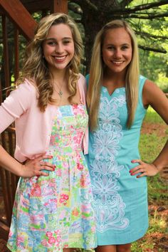 Twins in Lilly--I have the left dress!