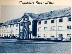 Frankfurt Germany  Frankfurt American Junior High School  DOD school - 7th thru 9th grades, 1960-62
