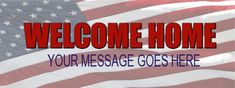 Welcome Home Banner Red Carpet Backdrop, Welcome Home Banners, Event Banner, Your Message, Messages, Red Carpet Background, Text Posts, Text Conversations