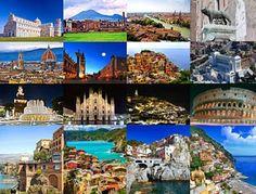 En kort tur til Italien.
