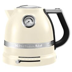 For a wide range of Kettles including this KitchenAid Artisan Jug Kettle Almond Cream, call into your local Harvey Norman store or shop online with Harvey Norman Ireland. Kitchenaid Kettle, Small Appliances, Kitchen Appliances, Design3000, Cord Storage, Almond Cream, Canned Heat, Kitchen, Kitchenaid