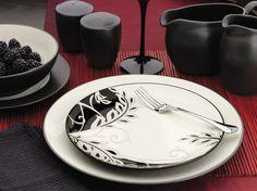 Noritake Colorwave Graphite. #dinnerware