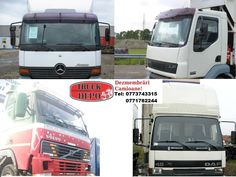 Diferite tipuri si modele de cabine. Pentru mai multe detalii, contactati-ne: 0773 743 315, 0771 782 244, 0771 783 686, 0365 424 682, office@truckdepo.ro .