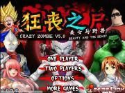 Your weekend can be bored if you miss a chance to enjoy the newest version of Crazy Zombie namely Crazy Zombie v5.0.
