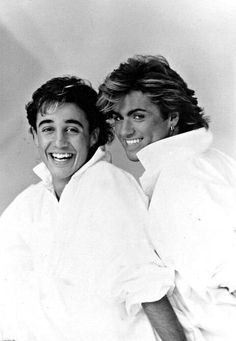 20th Century Music, Love Of A Lifetime, Andrew Ridgeley, George Michael Wham, Tv Show Music, Pop Rock Bands, Band Pictures, Hot Hunks, Love Me Forever