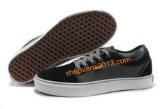 037dbe290c Vans Skate Chukka Low Black Grey Vans Skate Shoes