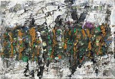 Sans Titre by Jean Paul Riopelle. Follow the biggest painting board on Pinterest: www.pinterest.com/atelierbeauvoir