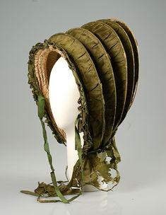 Calash  Date: ca. 1800 Culture: American Medium: Silk, cane Accession Number: 2009.300.4031