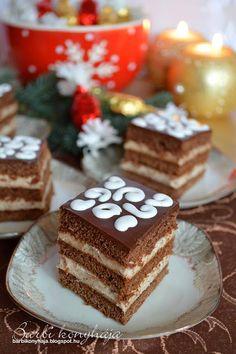 Hungarian Cake, Poppy Cake, Vanilla Cake, Tiramisu, Bakery, Good Food, Food And Drink, Cooking Recipes, Drinks