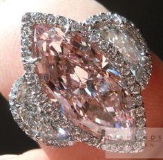 pink diamond beauty bling jewelry fashion