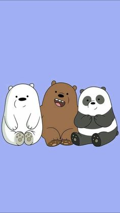 We Bare Bears ❤️