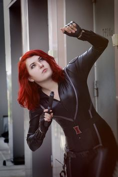 Black Widow in action by mysteria-violent
