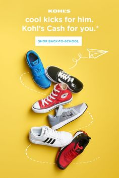 Help him step into the school year in style. Whether he wants to be colorful, ca… – Gesundes Abendessen, Vegetarische Rezepte, Vegane Desserts, Shoe Advertising, Creative Advertising, Web Design, Creative Design, Baby Boy Shoes Nike, Shoe Poster, Email Design Inspiration, Shoes Ads, Shoes Photo