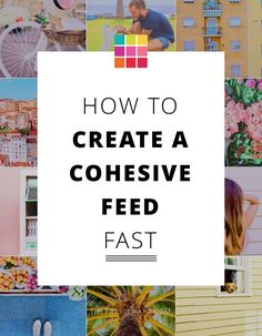 Follow these steps to create a Cohesive Instagram Feed right now.