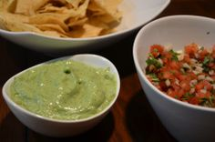 Avocado Cream Sauce - perfect for nachos, chips, or on a spoon! #mexican #food