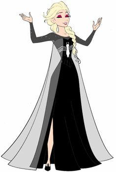 Elsa Symbiote Saga Concept Art #2 by FrozenSymbioteSaga on @DeviantArt