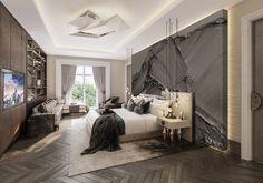 5* Hotel Residences Astana Modern Master Bedroom