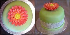 Gerbera Törtchen | Gerbera Cake