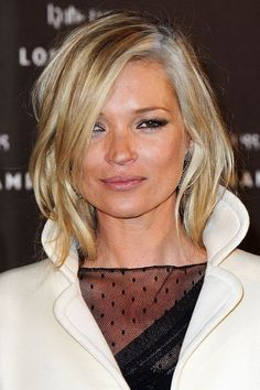 20 Times Kate Moss Started A Beauty Trend #refinery29  http://www.refinery29.com/2016/01/101245/kate-moss-birthday-beauty-looks#slide-12  White-HotThese days people are all about embracing and even faking their gray, but Kate was doing the silver-fox thing back in 2010. ...
