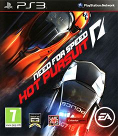 Need For Speed - Hot Pursuit  Playstation 3  PS3 Game Poster
