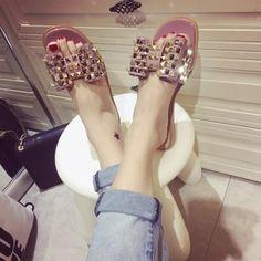 $25.90 (Buy here: https://alitems.com/g/1e8d114494ebda23ff8b16525dc3e8/?i=5&ulp=https%3A%2F%2Fwww.aliexpress.com%2Fitem%2FWomen-Sandals-2016-Summer-Shoes-Cool-Beach-Rivets-Big-Bow-Flat-Sandals-Slippers-Shoes-Girls-Size%2F32685931307.html ) Women Sandals 2016 Summer Shoes Cool Beach Rivets Big Bow Flat Sandals Slippers Shoes Girls Size 35-39(pls choose 1 size up) for just $25.90