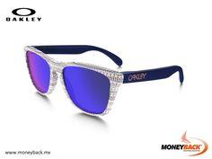 MONEYBACK MÉXICO. Hace algunas décadas Oakley creó estos famosos lentes de sol llamados Frogskins. Ahora Oakley ha resucitado este modelo original de los años 80 que te da una oportunidad de poseer un pedazo de historia. Compra Oakley en México ¡y ahorra impuestos con Moneyback! #moneyback www.moneyback.mx