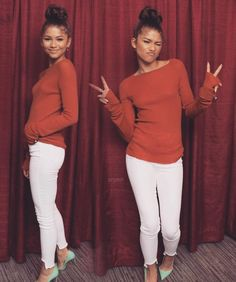 Zendaya Coleman at the SpiderMan Homecoming conference