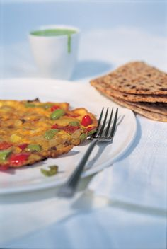 Masala omelette by Nigella Lawson Light Recipes, Egg Recipes, Brunch Recipes, Indian Food Recipes, Breakfast Recipes, Cooking Recipes, Cooking Eggs, Budget Recipes, Chef Recipes