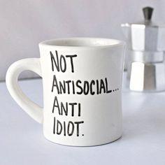 Sherlock Mug Sherlock Holmes tea cup diner mug coworker gift funny mugs for work sherlocked sarcasm snarky cumberbatch quote mug Funny Coffee Mugs, Coffee Humor, Funny Mugs, Sherlock Mug, Sherlock Holmes, Mug Diy, Cool Mugs, Gifts For Office, Posca