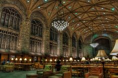 Harper Reading Room at the  University of Chicago