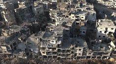 شاهد أكبر محافظة سورية بعد الدمار - http://mtm.am/g5077