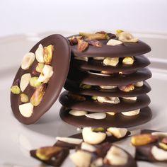 Çikolatadan enfes fındıklı, fıstıklı lezzetler