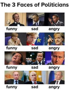 Memes, putin, and angry: the 3 faces of politicians funny sad angry funny Most Hilarious Memes, Crazy Funny Memes, Really Funny Memes, Stupid Memes, Funny Relatable Memes, Haha Funny, Funny Jokes, Funny Images, Best Funny Pictures