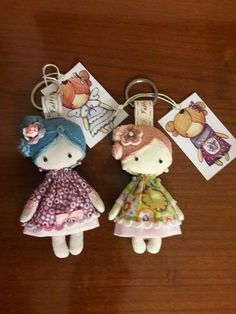 So reminiscent of Joan Walsh Anglund dolls