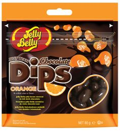 Jelly Belly Chocolate Dips Orange 80 g. Jelly Belly, Candy Shop, Chocolate Dipped, Dips, Sweets, Snacks, Orange, Breakfast, Food