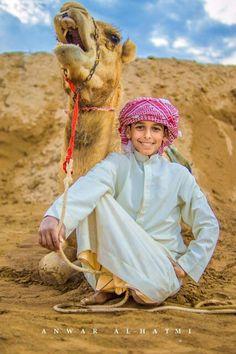 I love  my camel, Oman