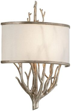 troy lighting b2841 adirondack collection 1 light wall sconce