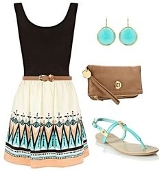 Cute spring outfit....-->follow<-- #spring_Jewelry_Outfits #lovely #Vintage