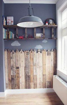 Einrichten und Wohnen Kinderzimmer platten Deko selber machen dekoartikel holz ähnliche Projekte und Ideen wie im Bild vorgestellt findest du auch in unserem Magazin