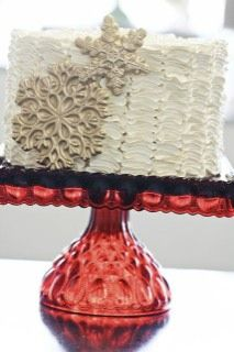 Love this cake stand!