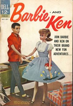 Comic Book Cover For Barbie and Ken #3