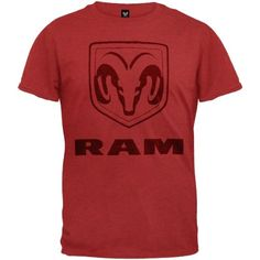 Dodge - Distressed Ram Logo T-Shirt - Small - http://www.carhits.com/dodge-distressed-ram-logo-t-shirt-small/